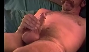 Homemade Video of Mature Amateur Cowboy Jacking Off