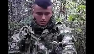 Militar Rico De Colombia Masturbandose