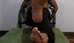 Flip flops and Pents Foot Fetish