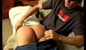 Babysitter boy spanking story and arab daddy gay Raven Gets A Red Raw