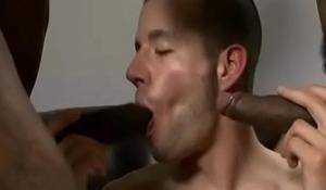 Gay Black Dude Fuck WHite Skinny Sexy BOy Hard 02