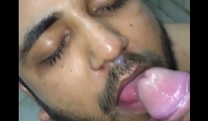 delhi indian guy's love for cum