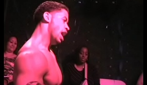 Exotic Black Male Stripper Live