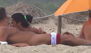 nudist guys caught on the beach 26