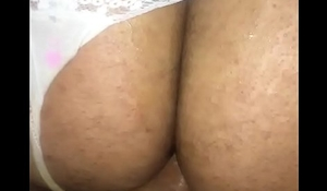 Dl straight bottom riding a dick w/ panties