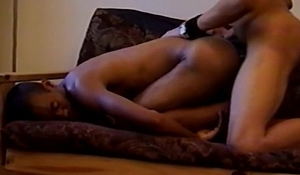 Black Gay Lover on Hardcore Anal Sex