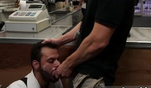 Straight men gets gay blowjob in truck first time Sucking Dick And