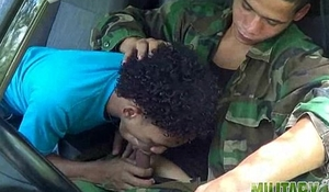 Civilian gets a taste of military meat