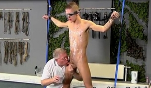 Gay male coach strips boy athlete bondage video and black guys into