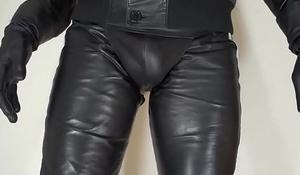 soft nappa leather pants