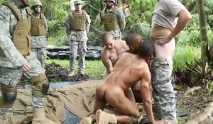 Fake nude gay military photos Jungle screw fest