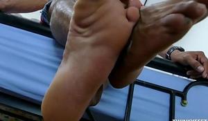 Asian Boy Rizal Foot Fetish Jerk Off
