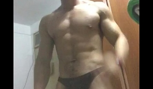 asian hunk jerk off