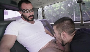 Buff Straight Guy Gets Tricked on The Bait Bus (tbb15850)