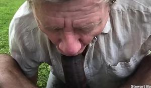 Big Black Blarney Pisses &_ Cums in my Face