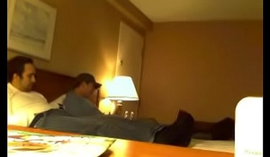 Straight latino never-ending swear at together hidden cam