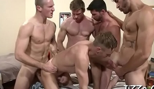 Husky males cherish fucking roughly sort out and enjoying anal