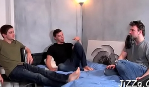 Exposed the rabble making out hard plus enjoying serious anal orgy