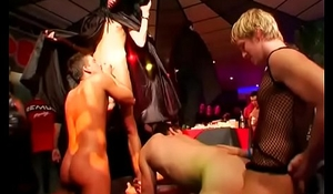 Guys merely ensemble turns into a sinful fruity orgy down ripped studs