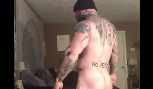 posing gay muscle hunk cock dick tat unconcealed bobby