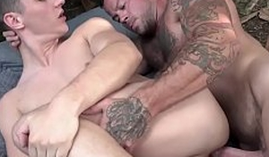 Twunk punished with an increment of anal fucked by muscular stepdad hard