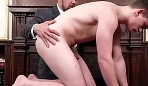 Teen mormon barebacked until he cums