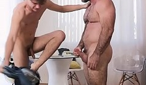 Stepmother bareback fucks stepson