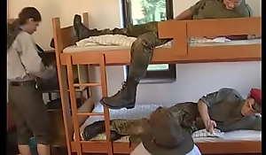 Horny boys camping