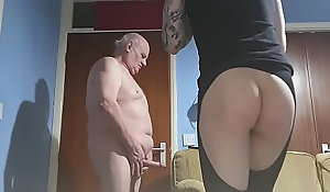 Perverted old man fucks young cd