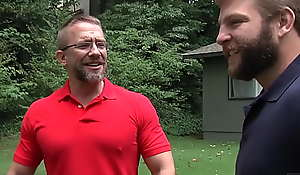 (Luke Adams) Needs (Dirk Cabers) Thick Cock Deep Inside His Scalding Ass - Men