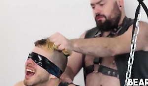 BEARFILMS Wild BDSM Bareback With Bear Silian And Tom Fox