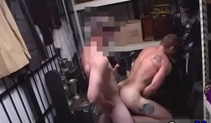 Hairy gay german cumshot Dungeon master with a gimp